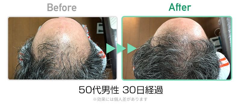 50代男性30日
